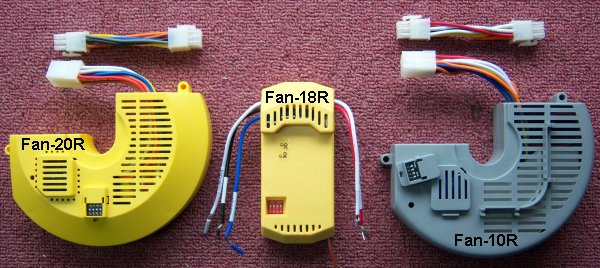 ceiling fans remote contols - receivers  fan 20r