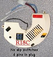 ceiling fans remote contols - receivers  R18C