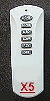 ceiling fans remote contols - transmitter  X5