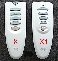ceiling fan remote controls 85094-01 85095-01