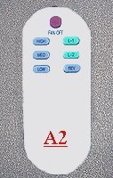 ceiling fan remote controls A2