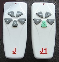ceiling fan remote controls J