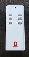 ceiling fan remote controls uc7030T